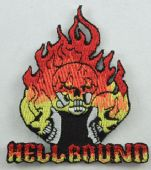 Hellbound - 'Skulls' Embroidered Patch
